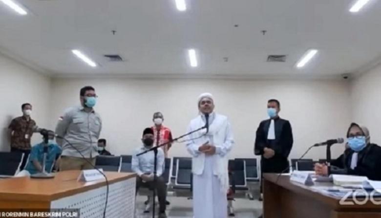 Nyungsep, Eksepsi Rizieq Ditolak Hakim, Sidang Lanjut Terooossssssss