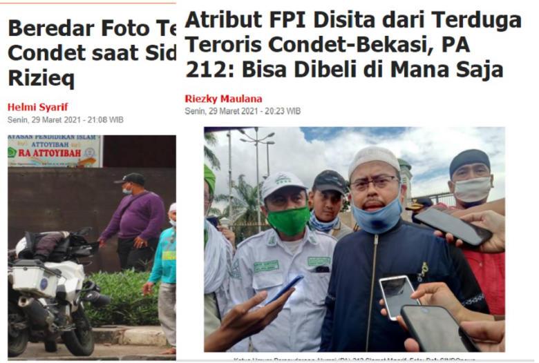 Terungkap Aktivitas Teroris Condet/Bekasi! Sidang Rizieq Target Selanjutnya?