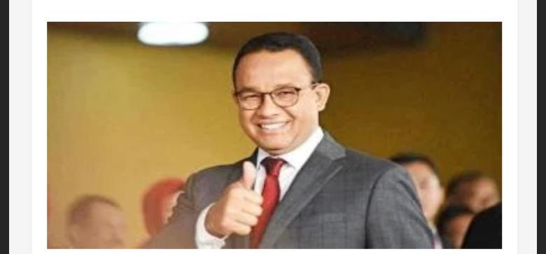 Anies Bicara Soal Asal Usulnya Demi Kepentingan Politik?