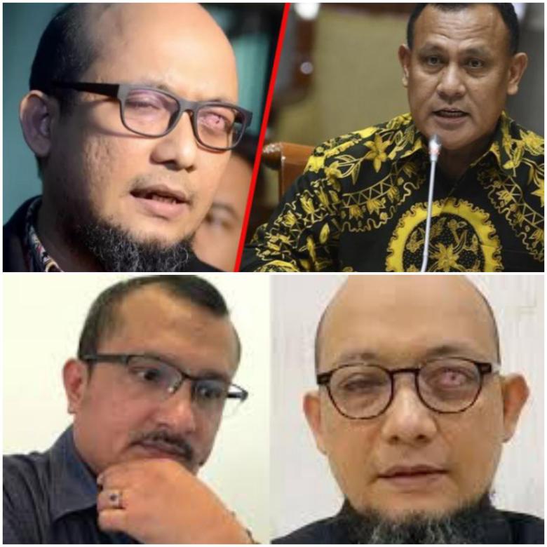 Gagal Sudutkan Jokowi, Novel Cs Banting Setir Laporkan Firli Bahuri!
