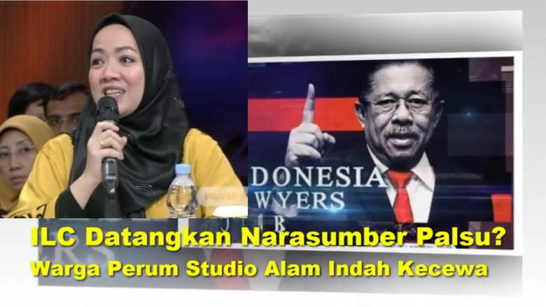 Kecewa ILC, Warga Studio Alam Indah Berencana Laporkan TV One Ke Dewan Pers