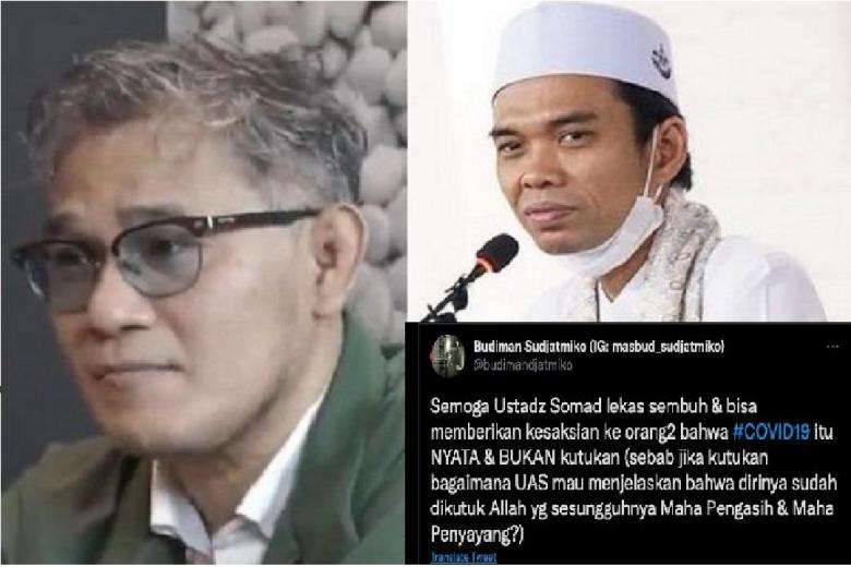 Sebagai Pro Jokowi, Saya Doakan Somad Sembuh Agar Bisa Luruskan Hoax Soal Copet