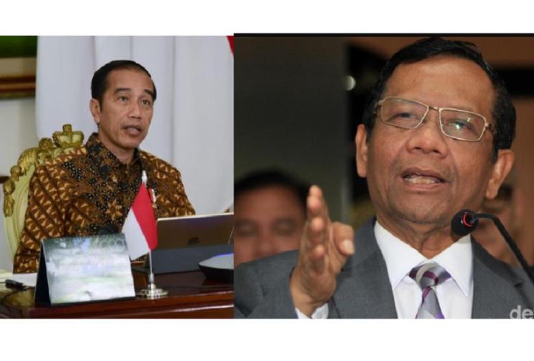 Kode Keras Jokowi/Mahfud MD, Sudah Endus Permainan Obat Pakai Dana Covid 19?