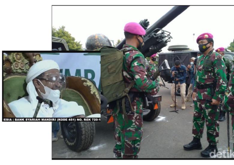 Jederrr! TNI Siap Bubarkan FPI! Aktor/Dalang Kicep, Sesak Napas!