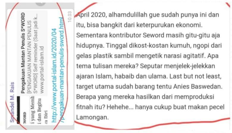 Khairrubi, Lu Banting Banting Juga Seword Tetap Disayang Oleh Negara Dan Bangsa Indonesia