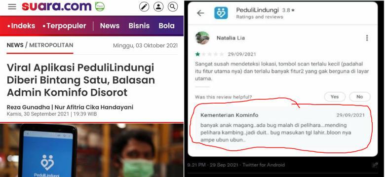 Admin Website Kominfo Terbukti Tidak Profesional, Internal Kominfo Minus Literasi Digital?