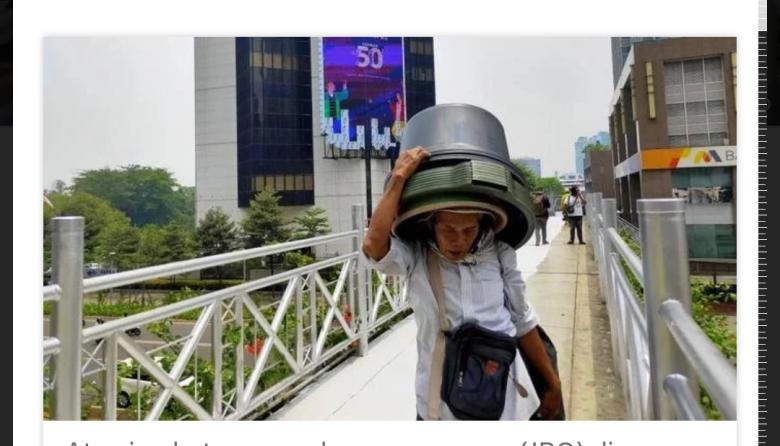 JPO Kok Jadi Tempat Berfoto, Lebih Baik Anies Jadi Gubernur Instagram Aja