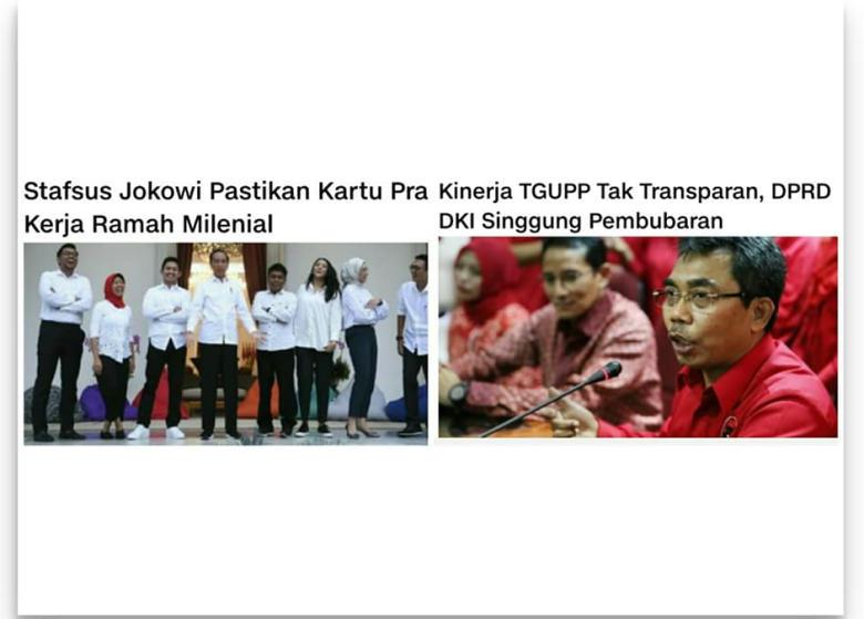 Bersiaplah! 14 Stafsus Jokowi Akan Permalukan 73 TGUPP Anies
