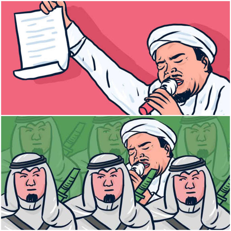 Mengejutkan, Rizieq Shihab Pernah Dianiaya Oknum Tak Dikenal Di Arab Saudi?