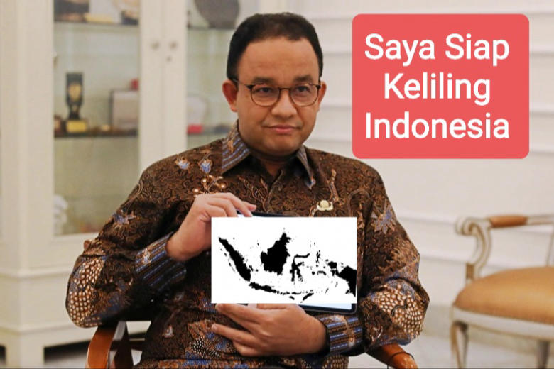 Rencana Anies Setelah Lengser Akan Keliling Indonesia, Menebar Janji Manis Secara Nasional